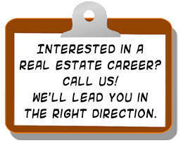 real estate career